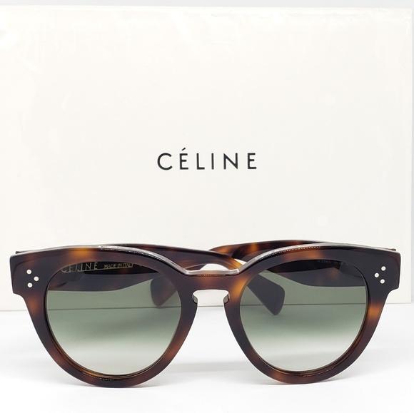 90e6a0e94c Celine Round Sunglasses Frame Havana